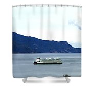 Washington State Ferry Shower Curtain