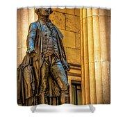 Washington Statue - Federal Hall #2 Shower Curtain