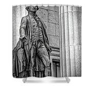 Washington Statue - Federal Hall #3 Shower Curtain