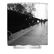 Washington Street Photography 3 Shower Curtain