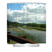 Washinton Coast 2 Shower Curtain