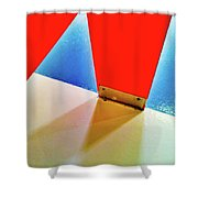 Washroom Indoor Structure Architecture Abstract Shower Curtain