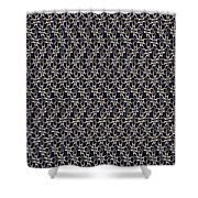 Waste In Space Shower Curtain