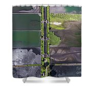 Waste Water Treatment Plant Shower Curtain