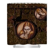 Wasteland Shower Curtain