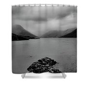 Wastwater In Bad Weather Shower Curtain