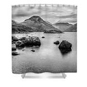 Wastwater Long Exp Shower Curtain