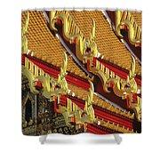 Wat Benjamabophit Shower Curtain