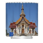 Wat Chaimongkron Phra Wihan Dthcb0088 Shower Curtain