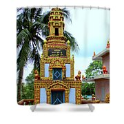 Wat Krom 26 Shower Curtain