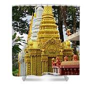Wat Krom 30 Shower Curtain