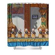 Wat Mae Faek Luang Phra Wihan Daily Merit Bowls Dthcm1879 Shower Curtain