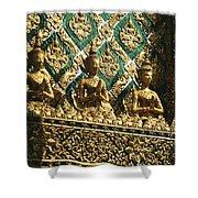 Wat Phra Keo (grand Palac Shower Curtain