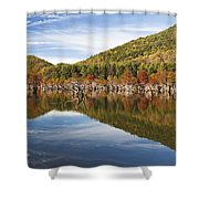 Watagua Lake, Tn Shower Curtain