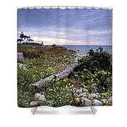 Watch Hill Lighthouse - Fm000062 Shower Curtain