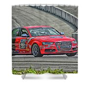 Watch Out Audi  Shower Curtain