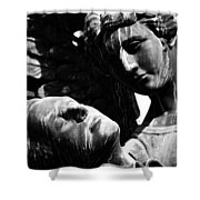 Watch Over Me  Shower Curtain