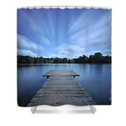 Watch The Day Go By Shower Curtain