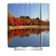Watch The Leaves Turn Shower Curtain