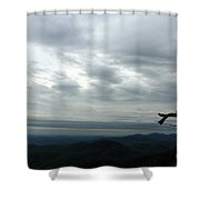 Watching Over Shenandoah Valley Shower Curtain