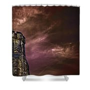 Watchtower Shower Curtain