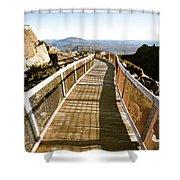 Watchtower Lookout, Ben Lomond, Tasmania Shower Curtain