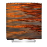 Water Abstract 1 1 14 Shower Curtain