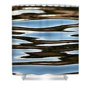 Water Abstract Okanagan Lake Shower Curtain