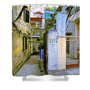 Water And Electric Paid Shower Curtain