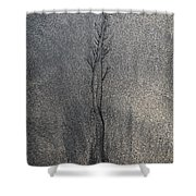 Water And Sand Shower Curtain