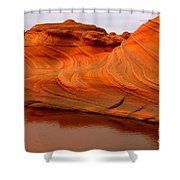 Water And The Wave Shower Curtain