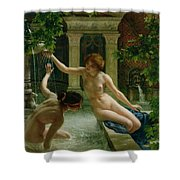 Water Babies Shower Curtain by Sir Edward John Poynter