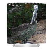 Water Bird Shower Curtain