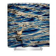 Water Bird Series 11 Shower Curtain