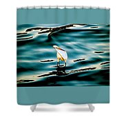 Water Bird Series 33 Shower Curtain
