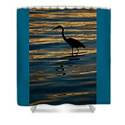 Water Bird Series 7 Shower Curtain