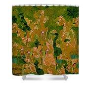 Water Bird Tapestry Shower Curtain