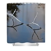 Water Bridge In Color Shower Curtain