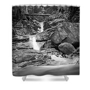 Water Cascade Shower Curtain