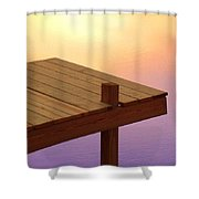 Water Color No3 Shower Curtain