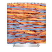 Water Colors 6 Shower Curtain