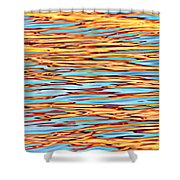 Water Colors 7 Shower Curtain
