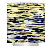 Water Colors 8 Shower Curtain