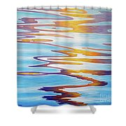 Water Dance Shower Curtain