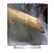 Water Deflector Shower Curtain