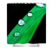Water Diamonds 14 Shower Curtain