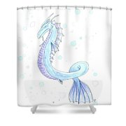 Water Dragon Shower Curtain