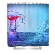 Water Drop 25 Shower Curtain