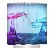 Water Drop 27 Shower Curtain