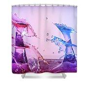 Water Drop 28 Shower Curtain